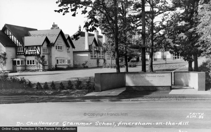 Photo of Amersham On The Hill, Dr Challoner's Grammar School c.1955