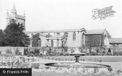 Amersham, Parish Church And Garden Of Remembrance c.1955