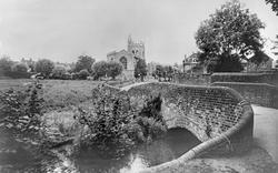 River Misbourne c.1965, Amersham