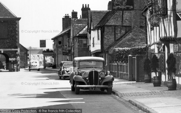 Amersham, Rover P2 Car c.1955