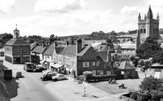 Amersham, St Mary's Church And Market Square 1958