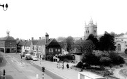 Amersham, St Mary's Church And Market Square c.1955