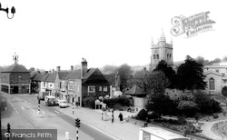 Amersham, St Mary's Church And Market Square c.1965