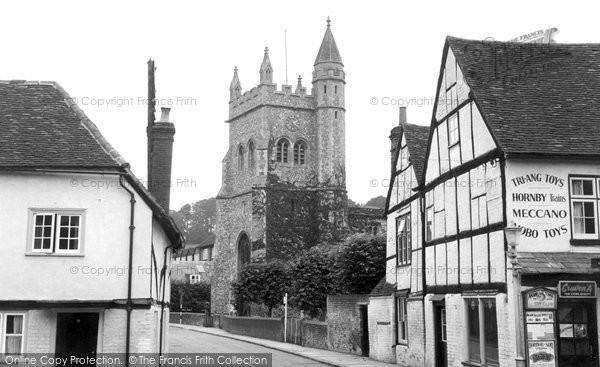 Photo of Amersham, St Mary's Church c1955
