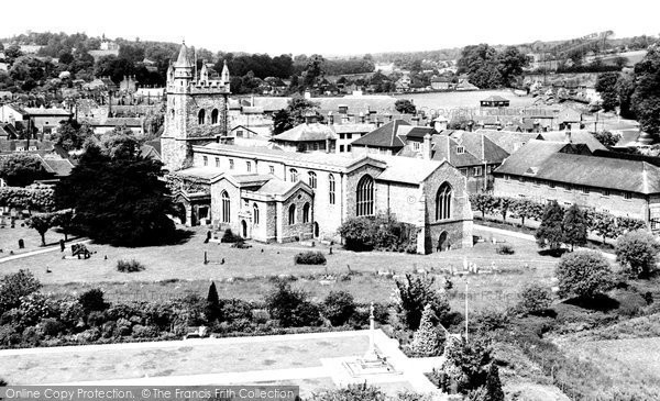 Amersham, St Mary's Parish Church 1958