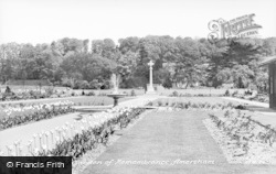 The Garden Of Remembrance c.1955, Amersham