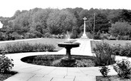Amersham, The Garden Of Remembrance c.1955