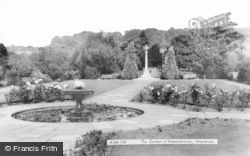 Amersham, The Garden Of Remembrance c.1965