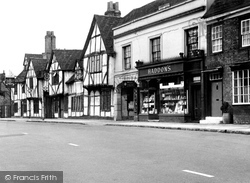 Amersham, The King's Arms c.1955