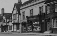 Amersham, The Kings Arms And Haddon's c.1950
