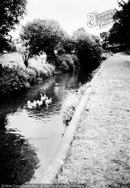 Amersham, The River Misbourne c.1960