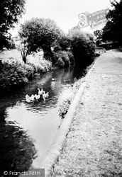 Amersham, The River Misbourne c.1965