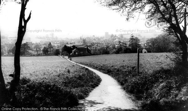 Photo of Amersham, View From Rectory Woods c.1965