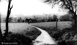 Amersham, View From Rectory Woods c.1965