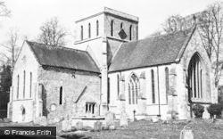 Amesbury, Church Of St Mary And St Melor c.1955