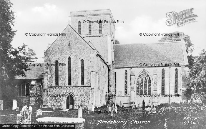Photo of Amesbury, Church Of St Mary And St Melore 1887