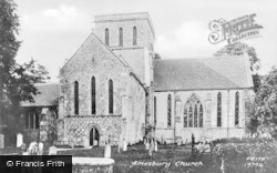 Amesbury, Church Of St Mary And St Melore 1887