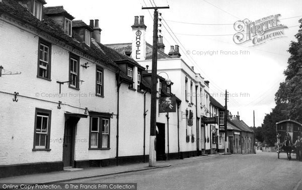 Photo of Amesbury, Church Street c.1950