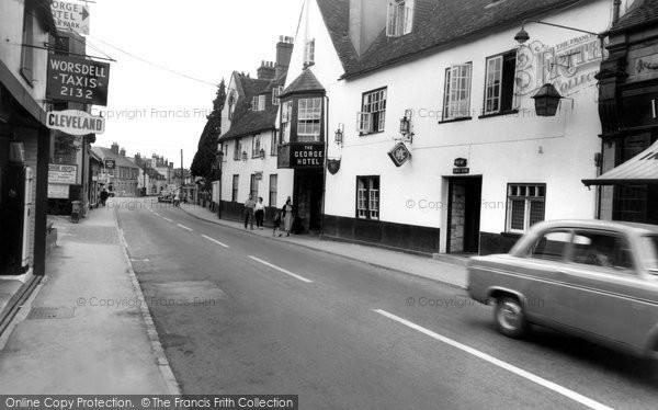 Amesbury, High Street c.1955