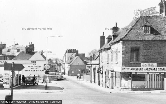 Photo of Amesbury, High Street c.1955