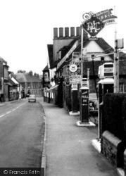 High Street, Petrol Station c.1955, Amesbury