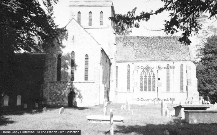 Photo of Amesbury, Priory Church c.1950