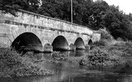 Amesbury, Queensbury Bridge c.1955