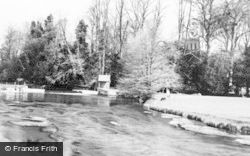 River Avon c.1955, Amesbury