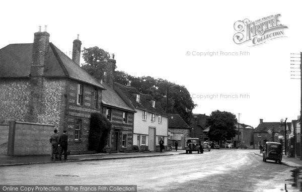 Photo of Amesbury, Salisbury Street c1955