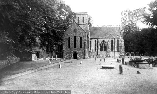Photo of Amesbury, St Mary And St Melor's Church c.1955