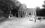 Amesbury, St Mary And St Melor's Church c.1955