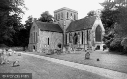 St Mary And St Melor's Church c.1955, Amesbury