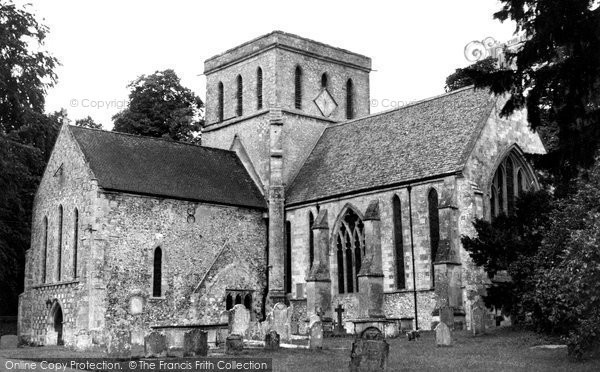 Amesbury, St Mary And St Melore's Church c.1955