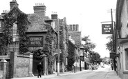 Amesbury, The George Hotel c.1955