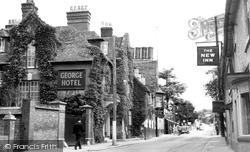 The George Hotel c.1955, Amesbury