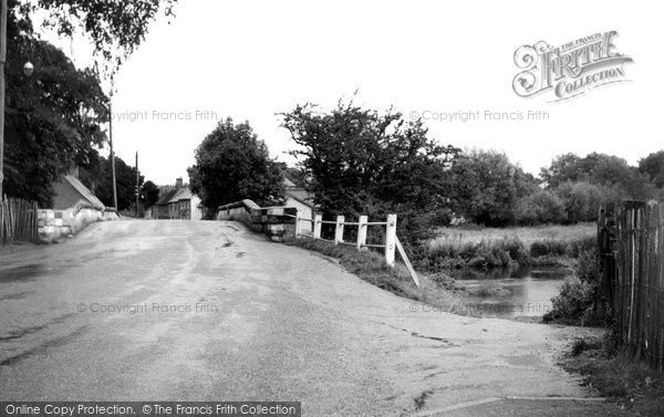 Amesbury, The Over Bridge c.1955