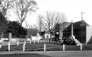 Amesbury, War Memorial c1950