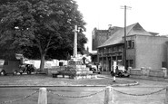 Amesbury, War Memorial c.1955