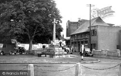 War Memorial c.1955, Amesbury