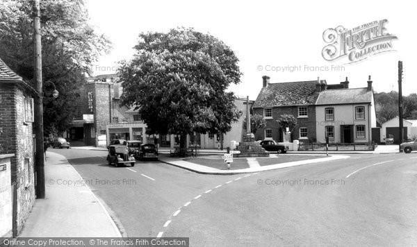 Amesbury, War Memorial c.1965