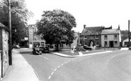 Amesbury, War Memorial c.1965