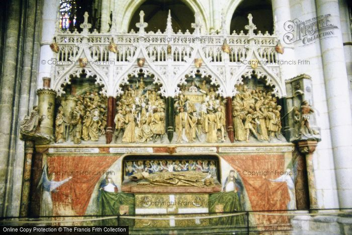 Photo of Amiens, Cathedral Interior c.1984