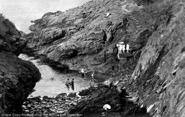 Photo of Amlwch, Bull Bay c.1955