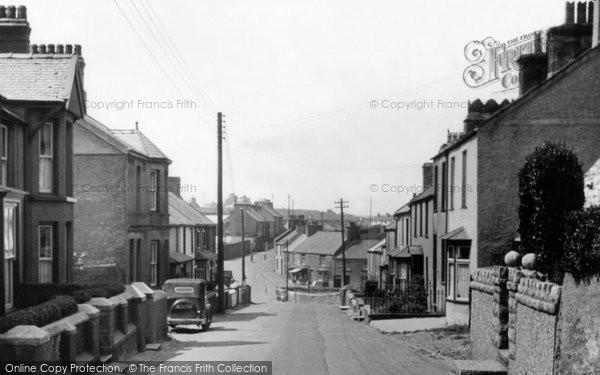 Photo of Amlwch, Chapel Street c.1955
