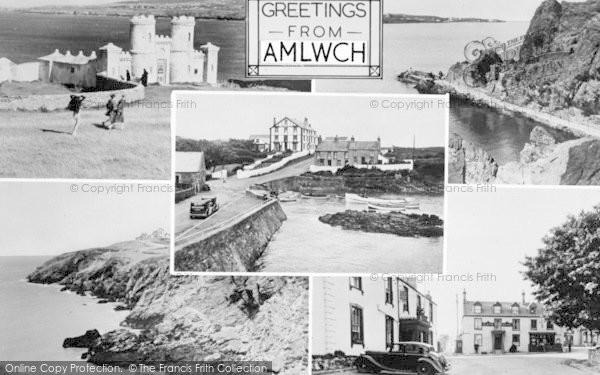 Photo of Amlwch, Composite c.1955