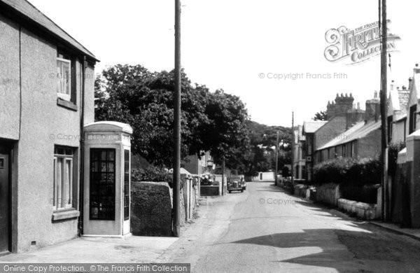 Photo of Amlwch, Llaneilian Road c.1955