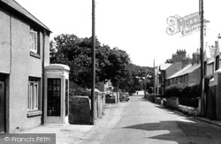 Amlwch, Llaneilian Road c.1955