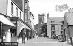 Amlwch, Mona Street c.1955