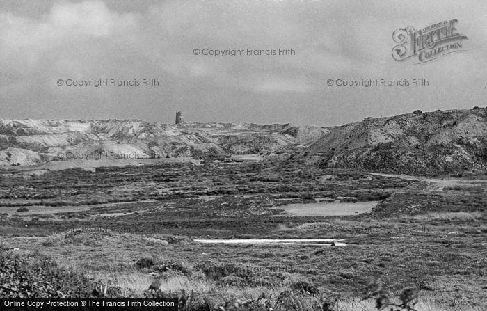 Photo of Amlwch, Old Copper Mine, Parys Mountain c.1939