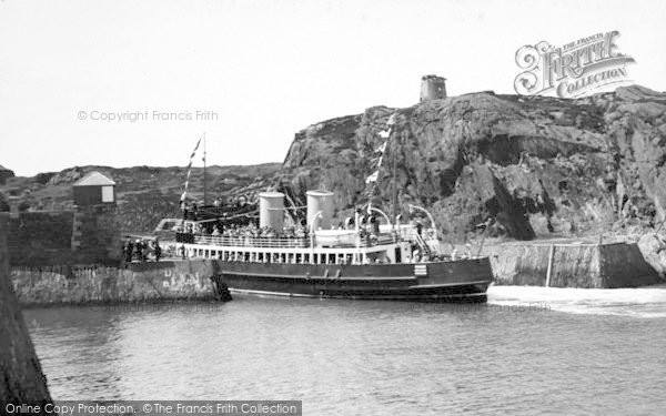 Photo of Amlwch, The Boat Calling c.1938